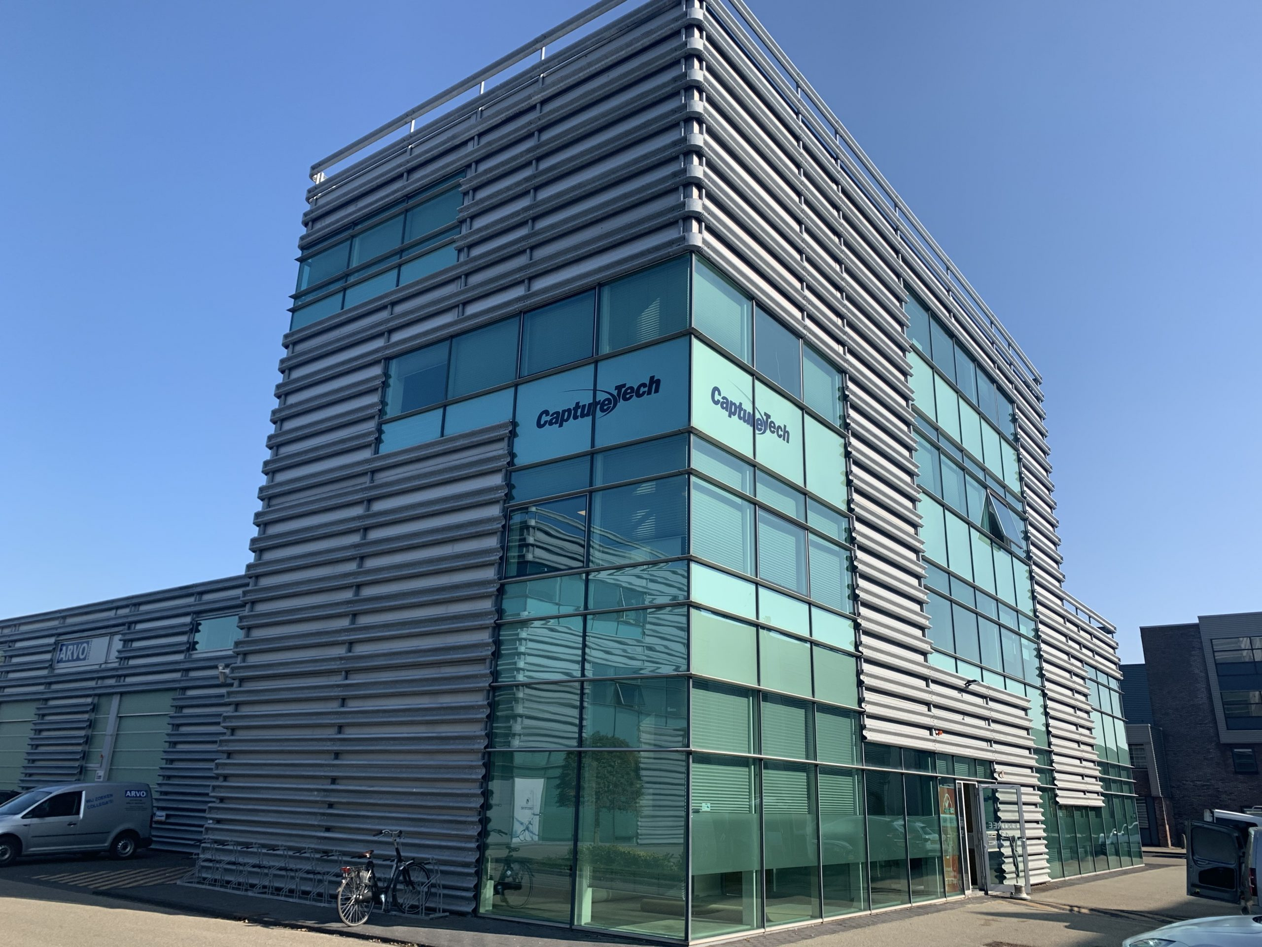 Picture of the new CaptureTech office building