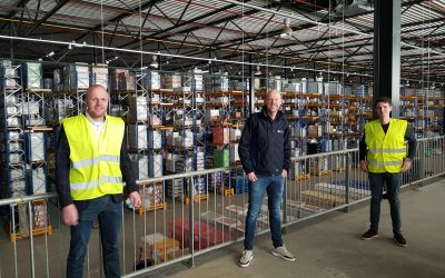 Bouw Logistic Services Verbetert Efficiency